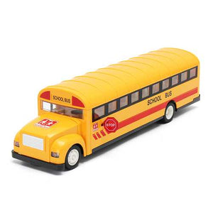 2.4G Remote Control School Bus Car Charging Electric Open Door RC Car Model Toys For Children Gifts - Cozzoo