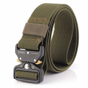 125CM Men Nylon Military Army Sport Pants Belt - Cozzoo