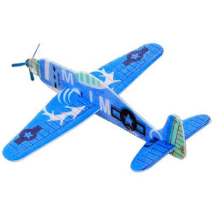 Flying Glider Plane Toy Air Sailer Toy Airplane Random Colour Birthday Christmas Gift For Children - Cozzoo