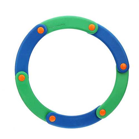 Softoys Eva Dance Fly Ring Children Safe Toys Foam Grasping Movement Beach Play Toys - Cozzoo