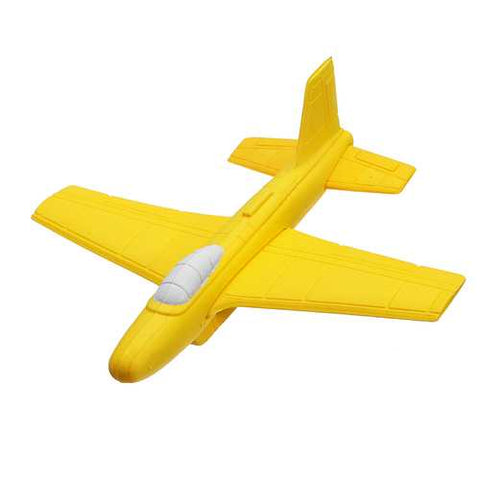 Softoys Hand Thrown Eva Foam Plane Toy Safe Toys For Children Outdoor Ruggedness Arcing Fighter - Cozzoo