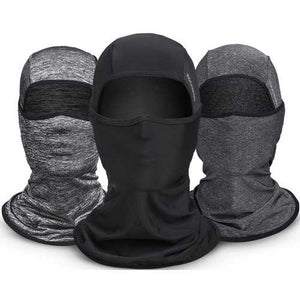ROCKBROS Ice Silk Fabric Cycling Headgear Mask Face Mask Multifunction Scarf Summer Anti-UV Face Mask Neck - Cozzoo