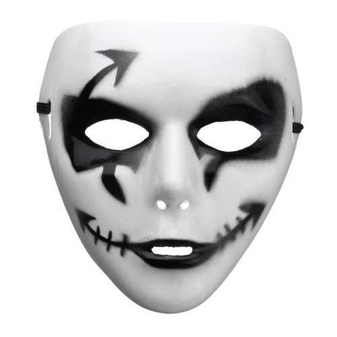 Halloween Small Arrow Face Mask Party Masks Dance Cosplay Prop - Cozzoo