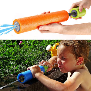 16-33cm Summer Water Gun Toys Outdoor Beach Toys Pumping Range 5-8 Meters Drift Telescopic Gun