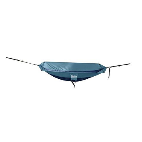 Double Hammock Navy/Light Blue - Cozzoo
