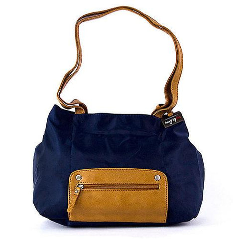 Travelon Twenty9Five Piegare Mini Tote (Navy) - Cozzoo