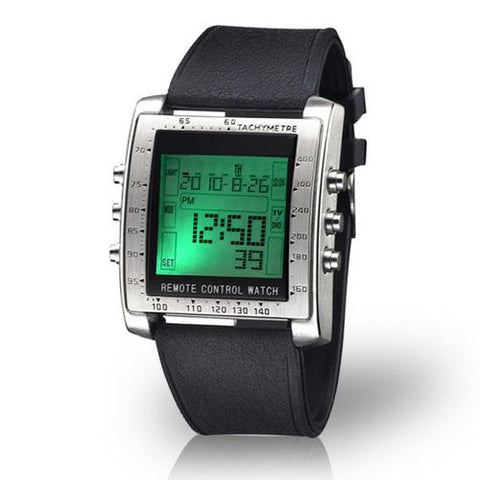 Sharper Image Control Freak Digital Remote Control Watch - Cozzoo