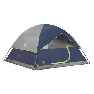 Sundome Tent 6 Person, 10' x 10', Navy/Gray - Cozzoo