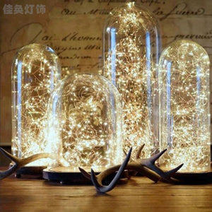 2M 3M 4M 5M 10M3XAA Battery Christmas Lights LED Copper Wire Fairy Lights For Festival Wedding Party Home Decoration LampKYY8046 - Cozzoo