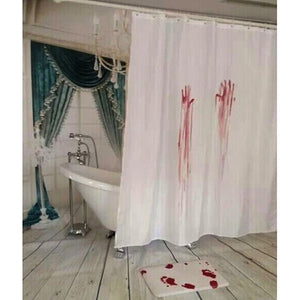 Bloody Palm Design Shower Curtain