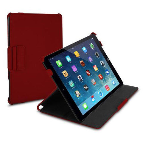 Targus Ultra Twill Vuscape Case for iPad Air, Red - Cozzoo