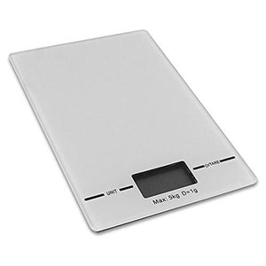 Eternal Slim Electronic Digital Kitchen Scale: 11lb Capacity - Cozzoo