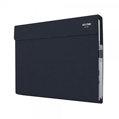 Jack Spade Wrap Folio for Microsoft Surface Pro 3/4, Navy - Cozzoo