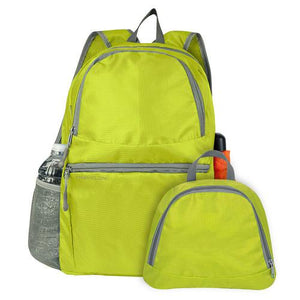 Travelon Packable Multi-Pocket Backpack - Lime - Cozzoo