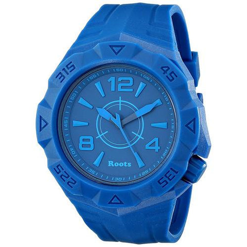 Roots Tusk Quartz Analog Sport Watch - Blue - Cozzoo