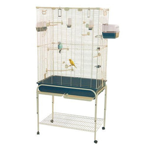 Marchioro Delfi 82 Birdcage for Canaries and Small Parrots (67 x 32.25 x 20) - Cozzoo