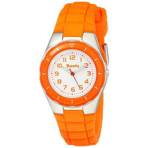 "Roots Women""s Saturna Analog Sports Watch, Orange - Cozzoo"