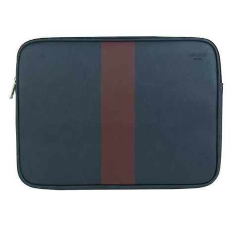 Jack Spade 13 Racing Stripe Sleeve (Navy/Burgundy) - Cozzoo