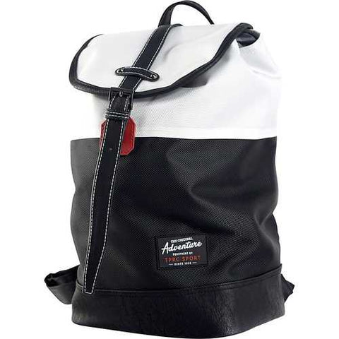 Travelers Club Sport 14 Laptop Business Travel Backpack Daypack White/Black - Cozzoo
