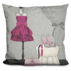 A Dress Fitting Boutique Ii Pillow - Cozzoo