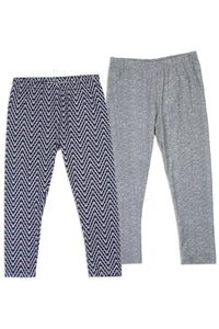 Twin Pack Girls 4-6x leggings - Cozzoo