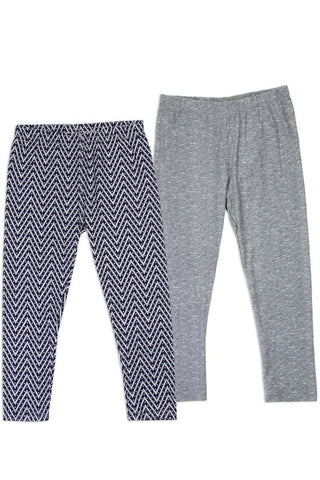 Twin Pack Girls 2-4t leggings - Cozzoo
