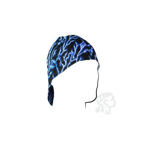 Welders Cap, Cotton, Blue Lightning, Size 7.5 - Cozzoo