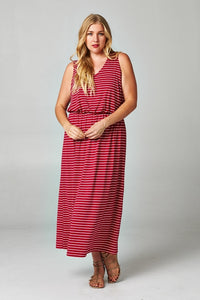 95ca575aaf Women s Plus Size Blouson Maxi Dress - Cozzoo