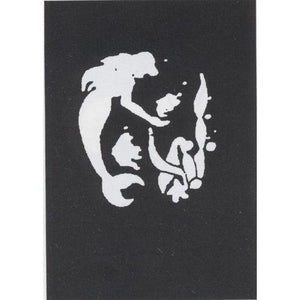 STENCIL MERMAID FISH STNLESS - Cozzoo
