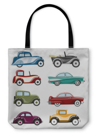 Tote Bag, Old Cars - Cozzoo