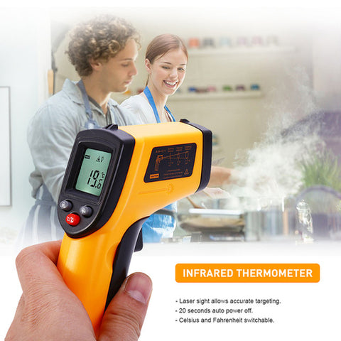 Hot Digital GM320 Infrared Thermometer Gun - Cozzoo