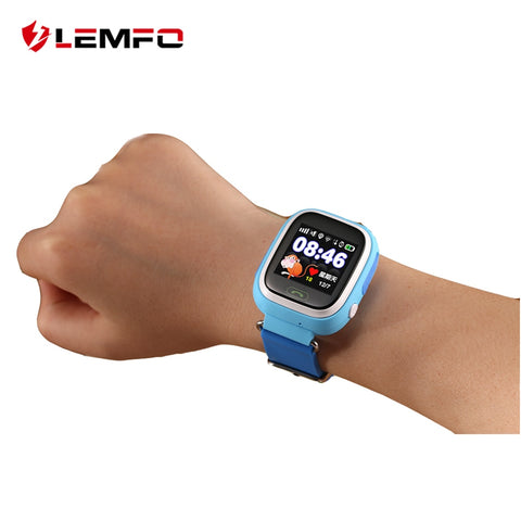 LEMFO Q90 Smart Watch Kids SOS Alarm Clock GPS WIFI Bluetooth Anti-lost SIM Card For Children's Smart Watches Phone Gift - Cozzoo