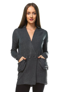 Women's Soft Knit Cardigan - Cozzoo