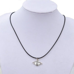 New Retro Saturn Necklace Jewelry Fantastic Torque - Cozzoo