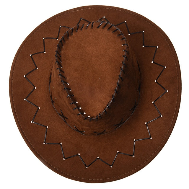 abaa68dd255 New Retro Unisex Denim Wild West Cowboy Cowgirl Rodeo Fancy Dress Accessory  Hats black - Cozzoo