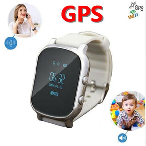 OLED Screen T58 Smart GPS WIFI Tracker Locator Anti-Lost Watch for Kid Elder Child Student Smartwatch with SOS Remote Monitor - Cozzoo