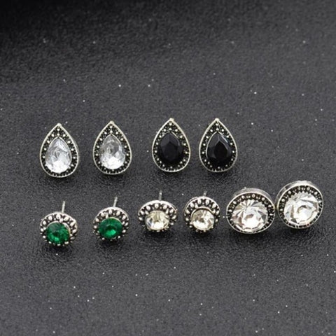 Stylish Retro Jewelry Vintage Alloy Earrings - Cozzoo