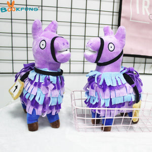 Troll Stash Llama Plush Toy Game Alpaca Rainbow Horse Stash Stuffed Doll Toys Kids Gift 20/27cm