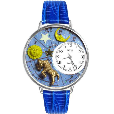 Aries Watch in Silver (Large) - Cozzoo
