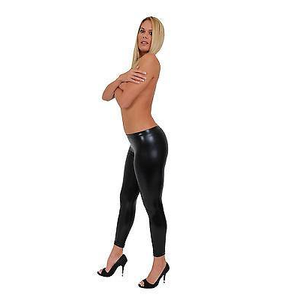 Metallic Leggings Pants - Cozzoo