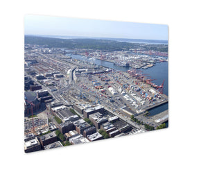 Metal Panel Print, Port Of Seattle Washington State - Cozzoo
