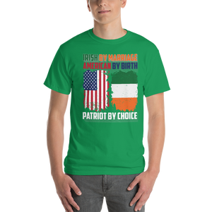 Irish by Marriage American by birth Patriot by choice - T-shirt - Cozzoo