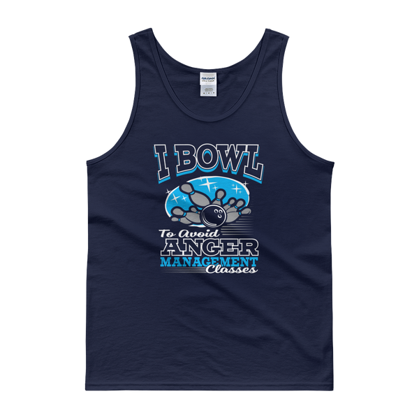 I Bowl To Avoid Anger Management Classes - Tank top - Cozzoo