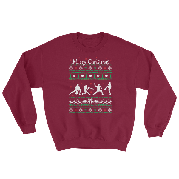Merry Christmas - Baseball - Sweatshirt - Cozzoo