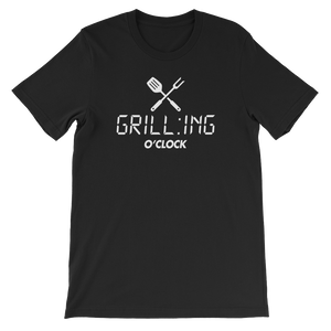 GRILL:ING O'CLOCK - Short-Sleeve Unisex T-Shirt - Cozzoo