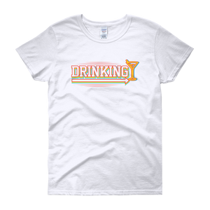 Drinking Mate - Women's short sleeve t-shirt - Cozzoo