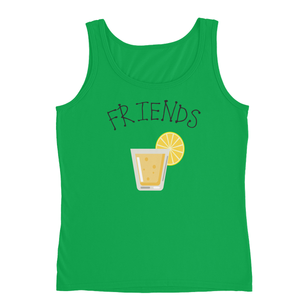 Best Friends - Beer/Drinking - Ladies' Tank - Cozzoo