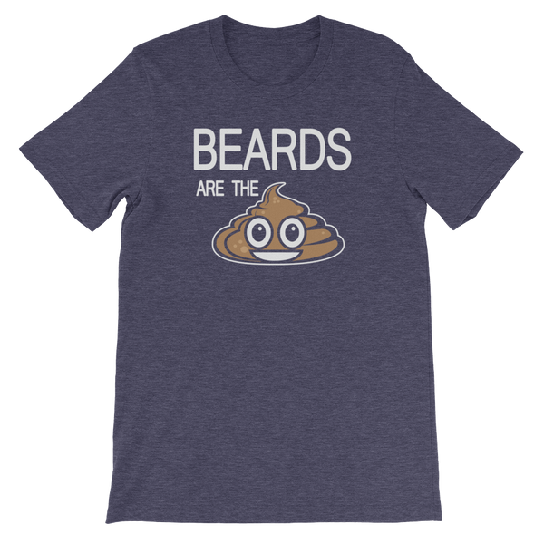 Beards Are The Shit - Short-Sleeve Unisex T-Shirt - Cozzoo