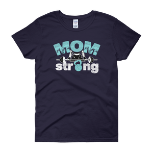 MOM Strong - Women's short sleeve t-shirt - Cozzoo