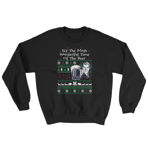 It's The Most Wonderful Time Of The Beer - Sweatshirt - Cozzoo